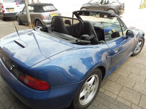 Windscherm BMW Z3 penafstand 700 mm
