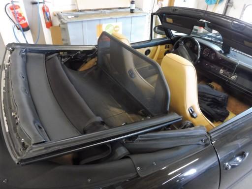 Windscherm Porsche 911 3.2, SC en 964