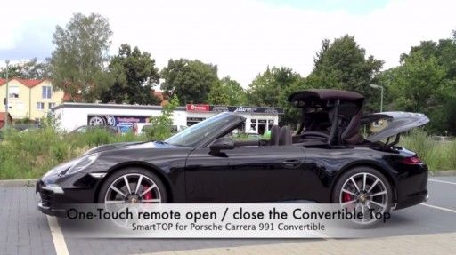 Cabriokap module Porsche 911 / 991 cabrio / targa