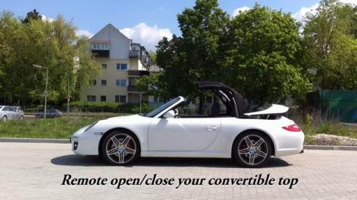 Cabriokap module Porsche 911 / 997