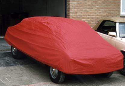 Auto afdekhoes binnengebruik rood M
