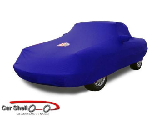 Afdekhoes (maathoes) Alfa Romeo Spider 70-93 blauw