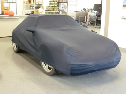 Afdekhoes (maathoes) Porsche 911SC & 964 blauw