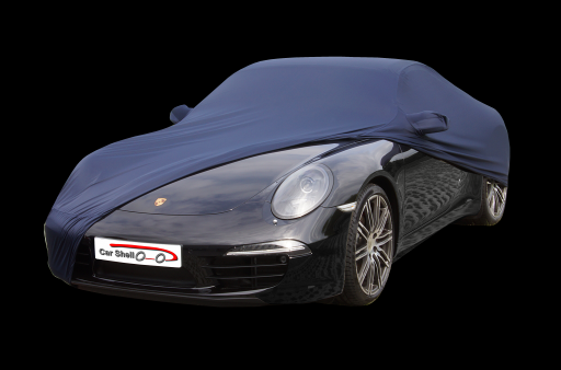 Afdekhoes (maathoes) Porsche 991 blauw