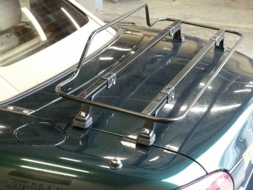 Bagagerekje Fiat 124 Spider zwart Spring