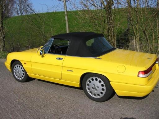 Cabriokap Alfa Romeo Spider 70-93