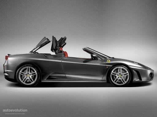 Cabriokap module Ferrari 360 en F430
