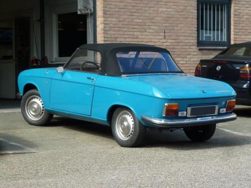 Cabriokap Peugeot 204 / 304 cabrio Sonnenland A5
