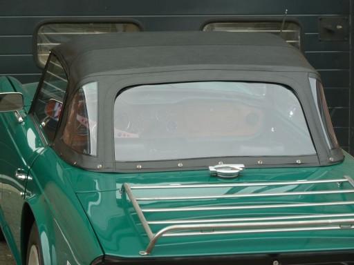 Cabriokap Triumph TR6 vinyl zwart