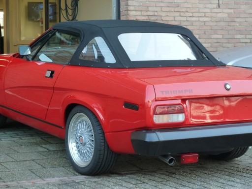 Cabriokap Triumph TR7 / TR8 Stayfast zwart
