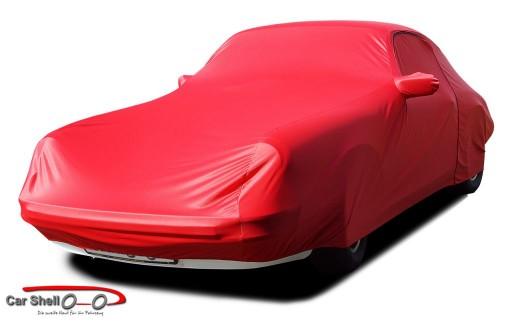 Afdekhoes (maathoes) Porsche 911SC & 964 rood