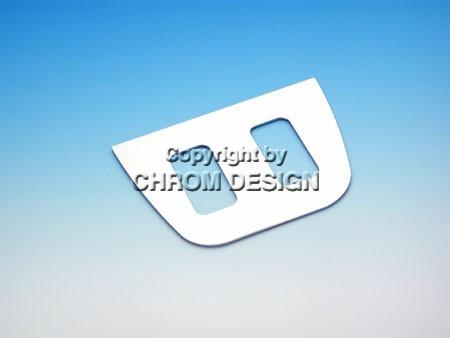 Frameplaatje schakelaars portierruiten (chroom)
