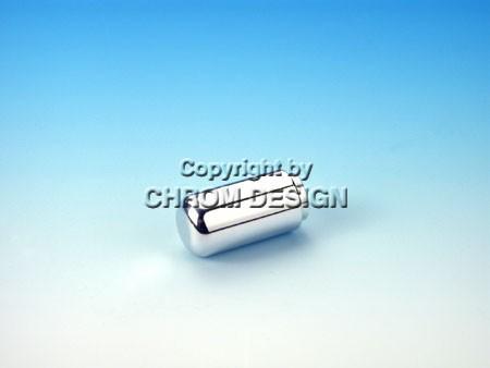 Handremknop type A, glad (verchroomd)