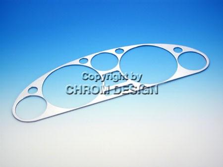 Instrumentenconsole frame (chroom)