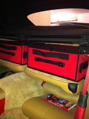 Kofferset Porsche 996 & 997 Achterbank