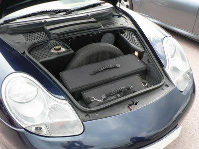 Kofferset Porsche 996 voorzijde 4delig