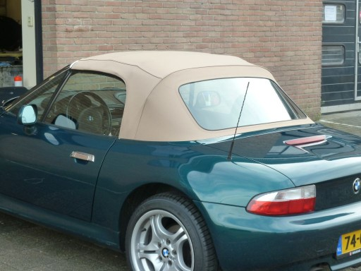 Softtop BMW Z3 Twillfast beige
