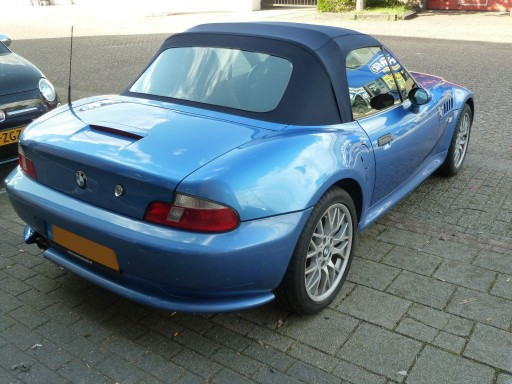 Softtop BMW Z3 Twillfast blauw