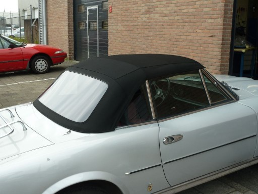 Softtop Fiat 124 Spider CS1 zwart Stayfast