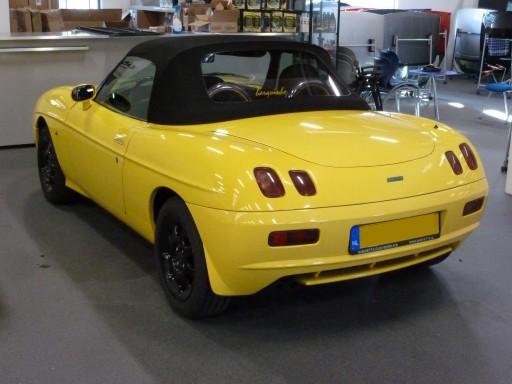 Softtop Fiat Barchetta Sonnenland A5 zwart