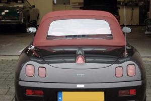 Softtop Fiat Barchetta, Sonnenland A5.0 rood