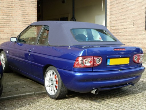 Softtop Ford Escort 1990-1997 Sonnenland A5 blauw