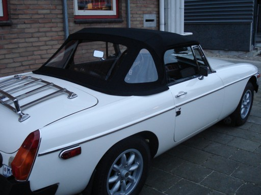 Softtop MG-B Stayfast zwart 1977-1979