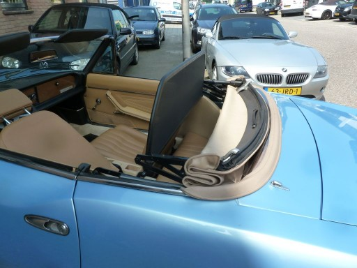 Windscherm Fiat 124 Spider Classic