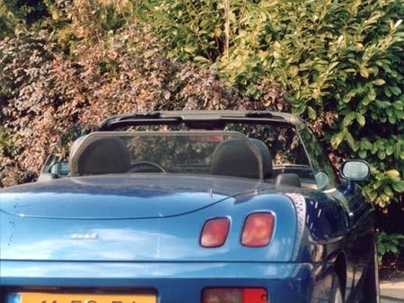 Windscherm Fiat Barchetta