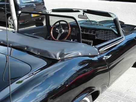 Windscherm Jaguar E-type S3