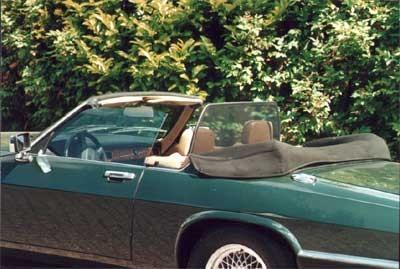 Windscherm Jaguar XJ 2-zits
