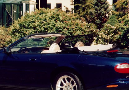 Windscherm Jaguar XK8 tot 2006
