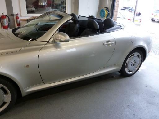Windscherm Lexus SC 430