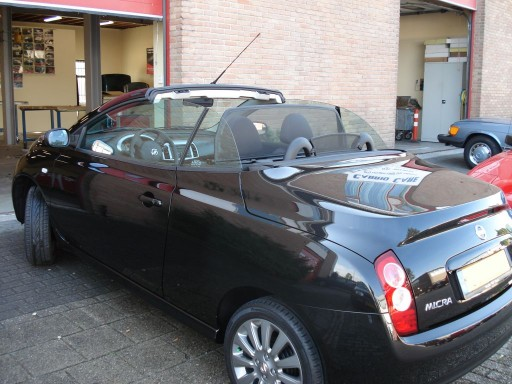Windscherm Nissan Micra CC