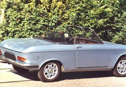 Windscherm Peugeot 204/304