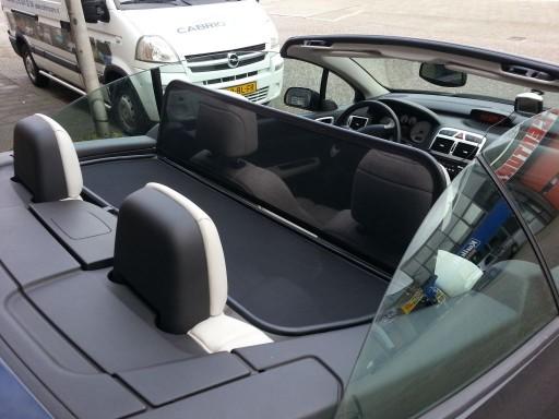 Windscherm Peugeot 307CC