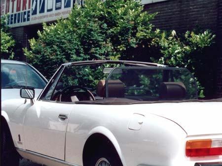 Windscherm Peugeot 504