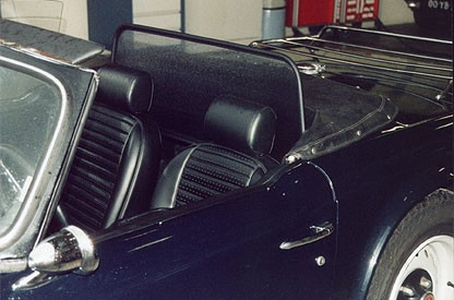 Windscherm Triumph TR5 / TR-6