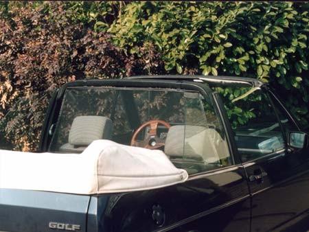 Windscherm VW Golf I