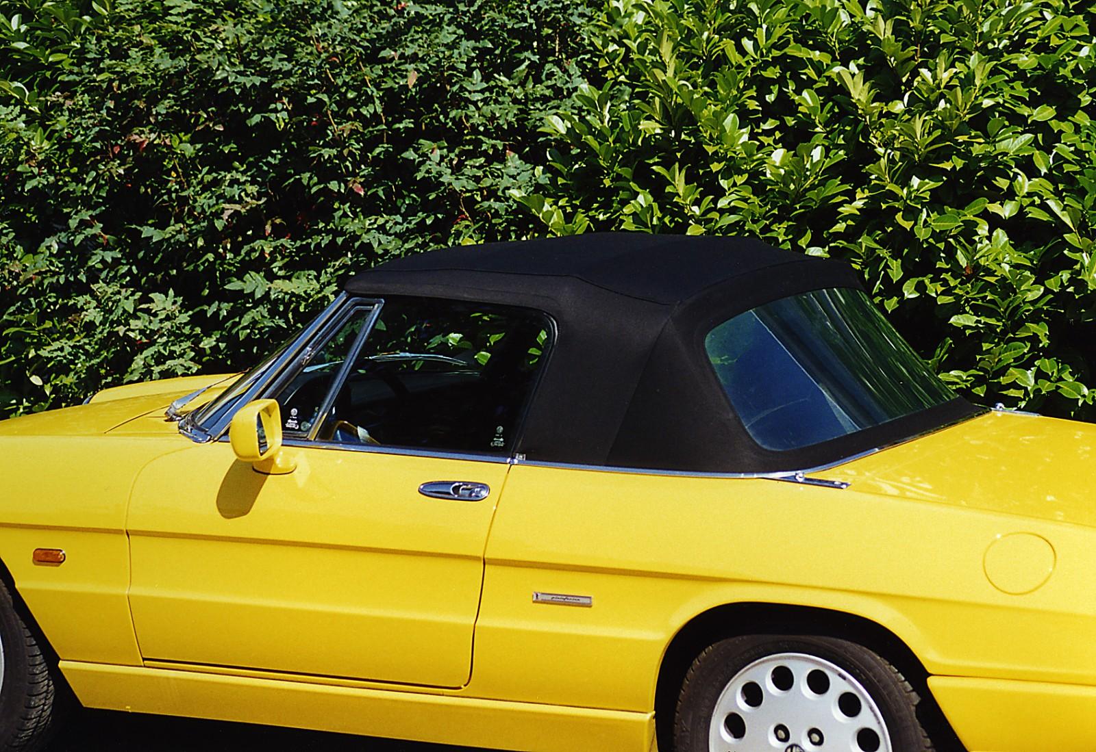 Alfa Romeo Cabrio Care - Alfa romeo spider soft top