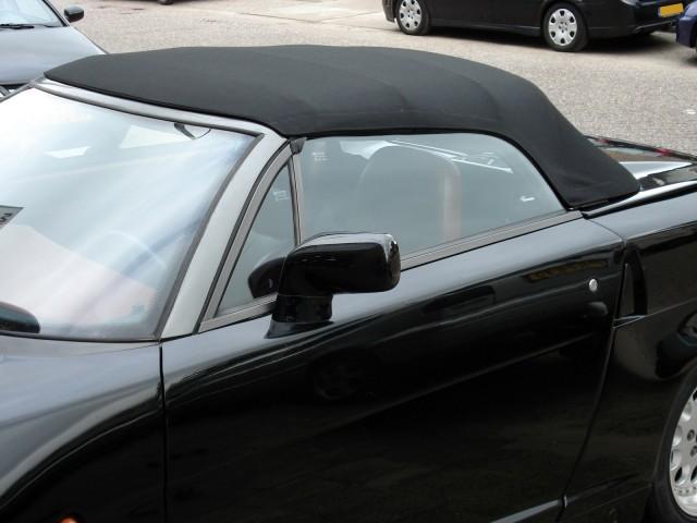 Alfa Romeo RZ, cabriokap Sonnenland Classic zwart