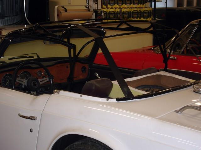 Cabriokapframe Triumph TR6