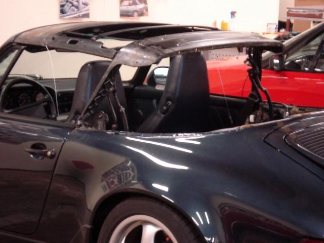 Cabriokapframe Porsche 911/964