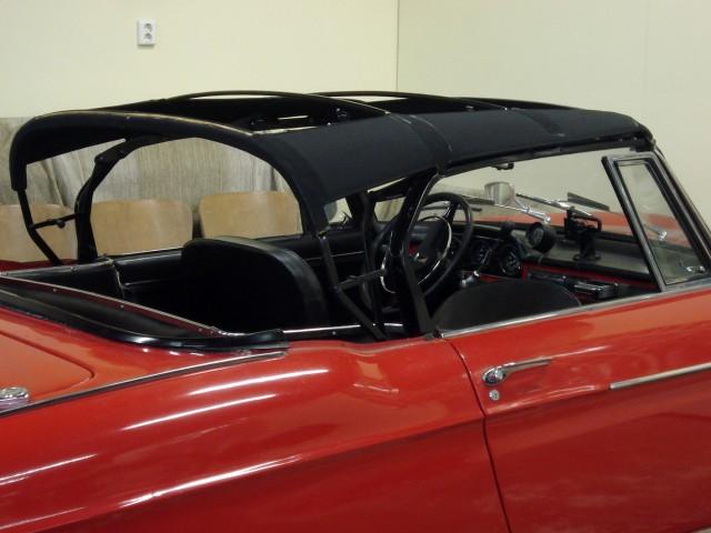 Cabriokapframe Peugeot 404 cabriolet