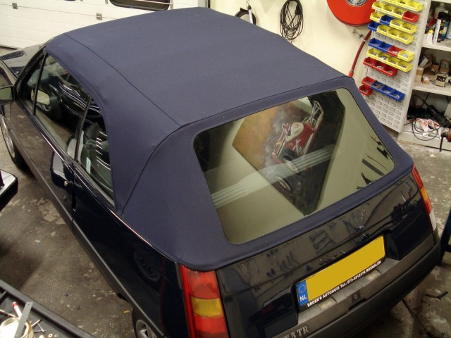 Renault 5 EBS, softtop Sonnenland Classic blauw