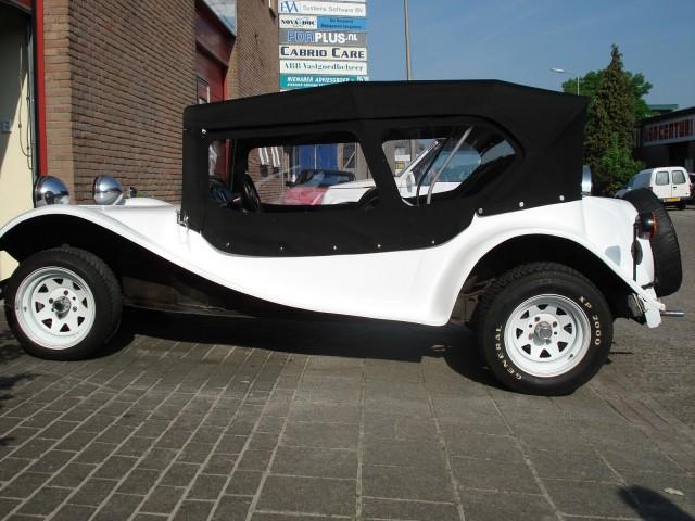 VW Buggy Ruska, softtop Sonnenland Classic zwart