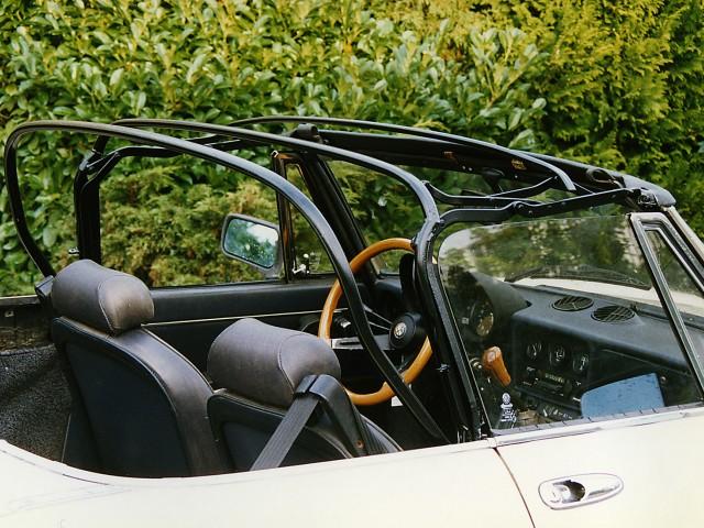 Cabriokapframe Alfa Romeo Spider Coda Tronca
