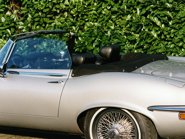 Jaguar E-type S3 kaphoes Stayfast zwart