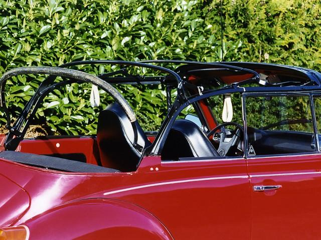 VW Kever cabriokapframe