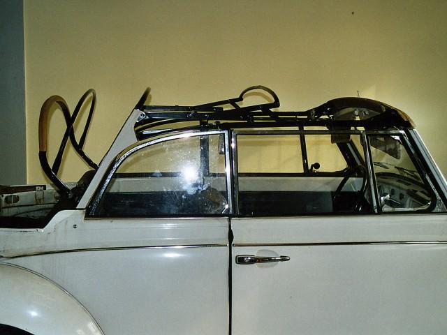 VW Kever 1302/1500 cabriokapframe